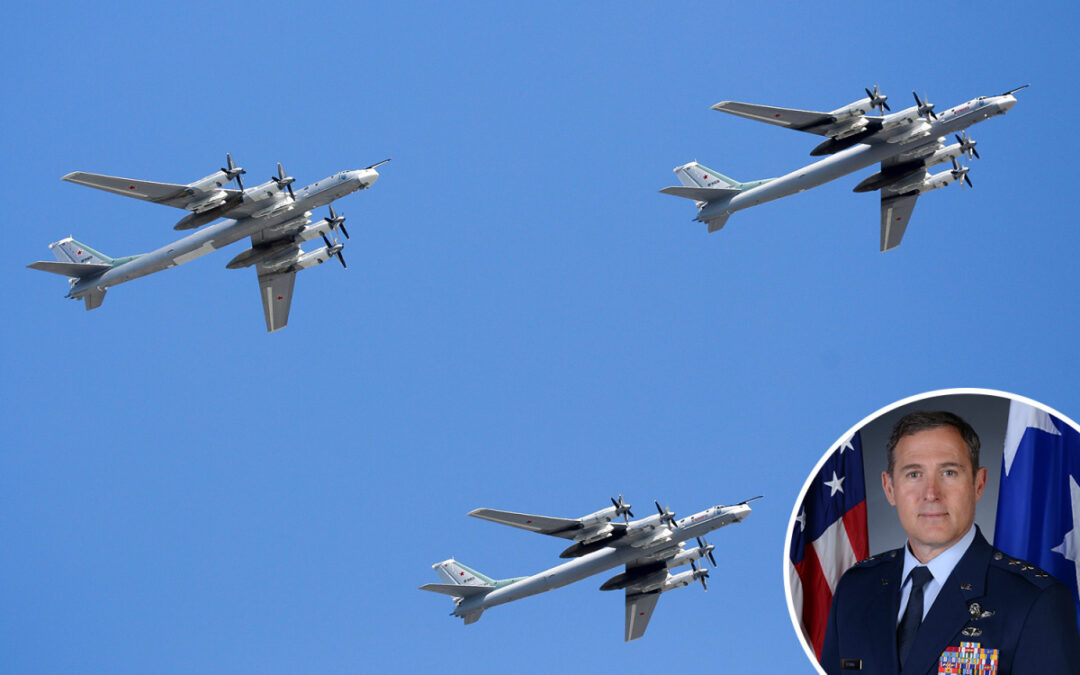 Russian aircraft buzzing Alaska at highest rate since collapse of Soviet Union...