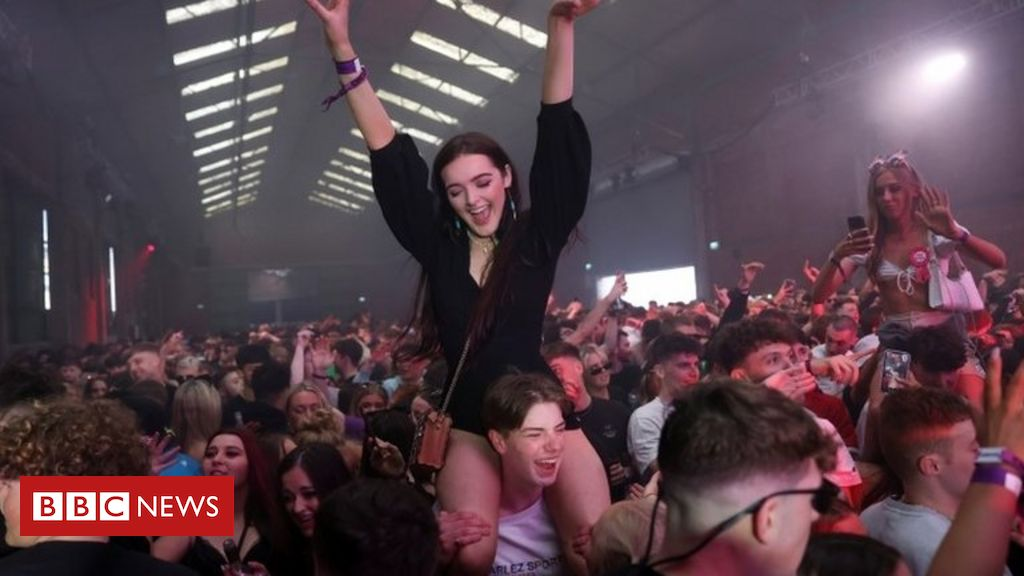 Clubbers' joy at returning to the dance floor in Liverpool