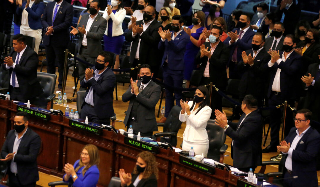 Crisis brewing as El Salvador's Congress votes out top judges