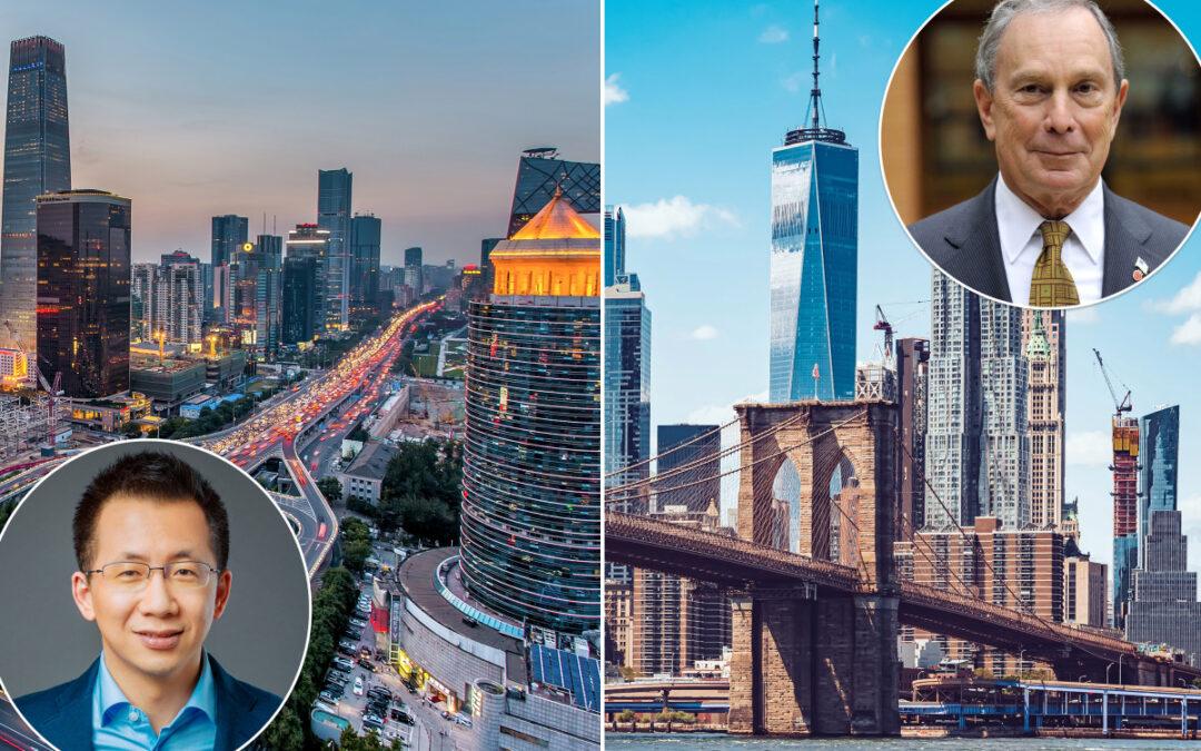 Beijing tops NYC in number of billionaires...