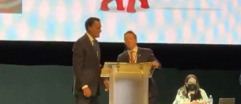 'Show Respect': Official Steps In As Mitt Romney Is Greeted With Boos At Utah GOP Convention