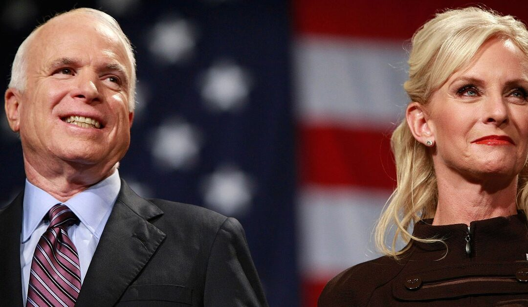 Cindy McCain Opens Up — On Her Terms
