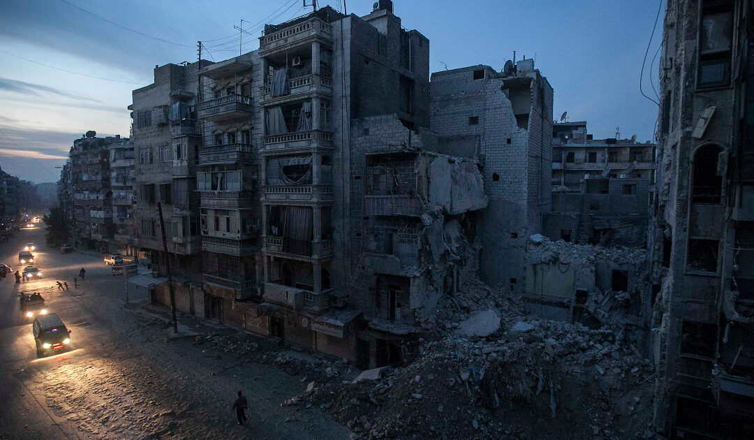 Life and death at the Dar Al Shifa hospital on Aleppo's front line