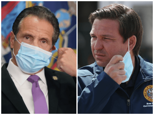 The Tale of Two Governors: 'Breaking the News' Exposes Establishment Media's Extreme Prejudice in Covering Cuomo, DeSantis