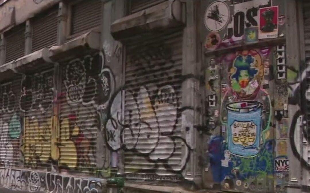 Graffiti plague returns to Manhattan!
