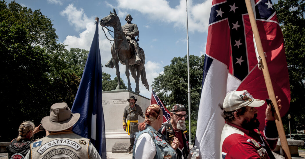 Tensions Rise in Memphis as Slave Trader's Remains Removed...