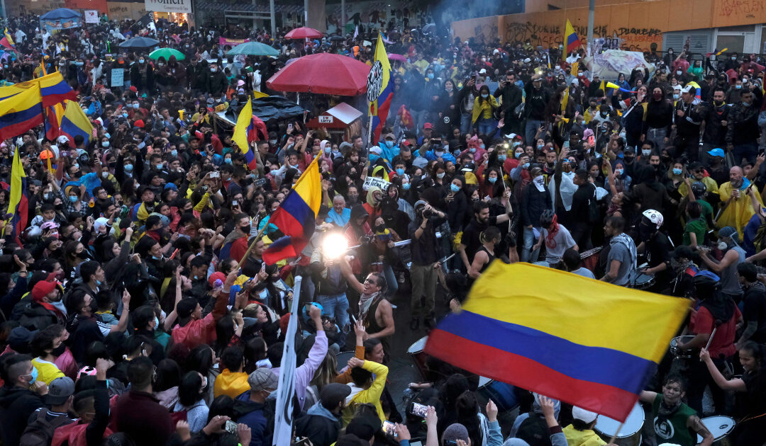 Colombia to 'modernise' police after protest violence criticism