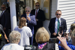 Media Asks Biden About Ice Cream and Ignores Hunter