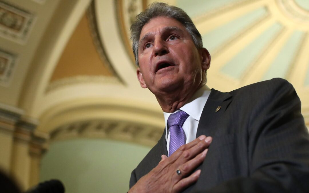 Manchin Comes Out Against Democrats' Election Bill