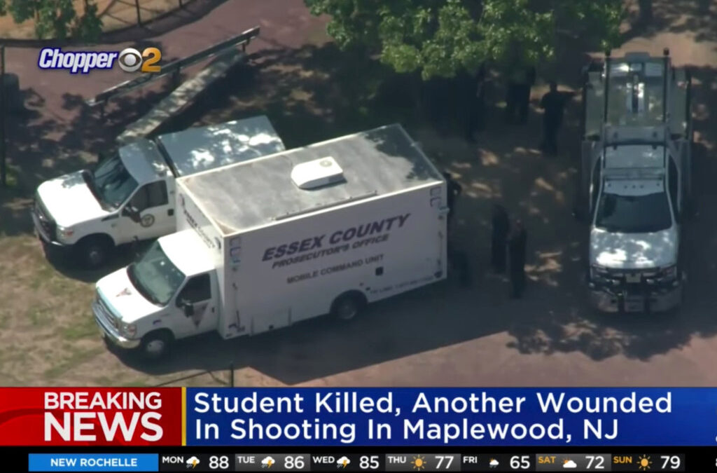 Student killed, another injured in shooting at New Jersey school field