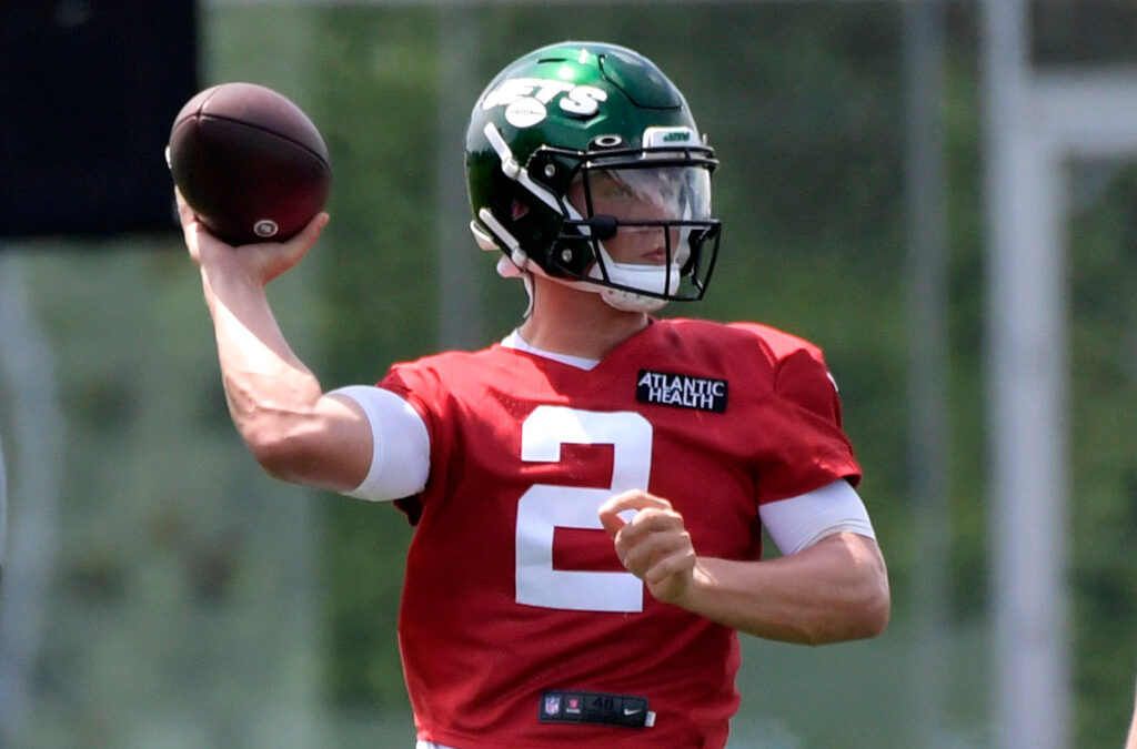 Zach Wilson isn't only Jets rookie putting on a show at OTAs