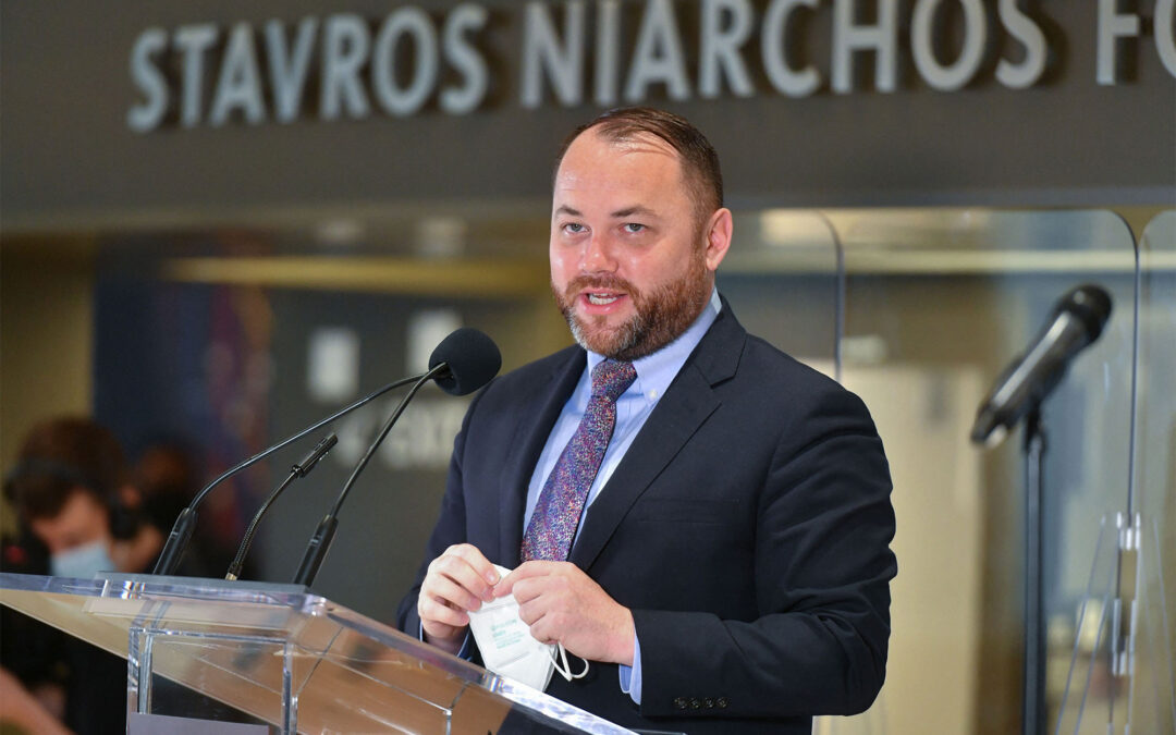 Frontrunner Corey Johnson fends off attacks from left and right in NYC comptroller debate