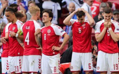 Denmark's Eriksen 'awake' in hospital after collapsing