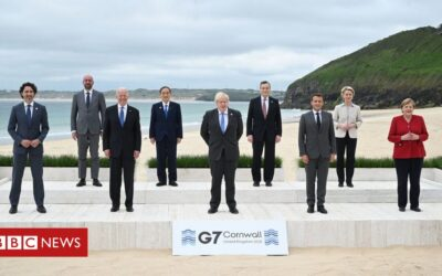 G7 adopts spending plan to rival China's influence