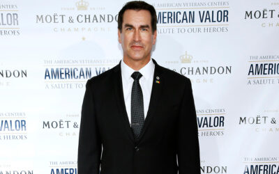 Rob Riggle accuses estranged wife of spying on him with hidden camera