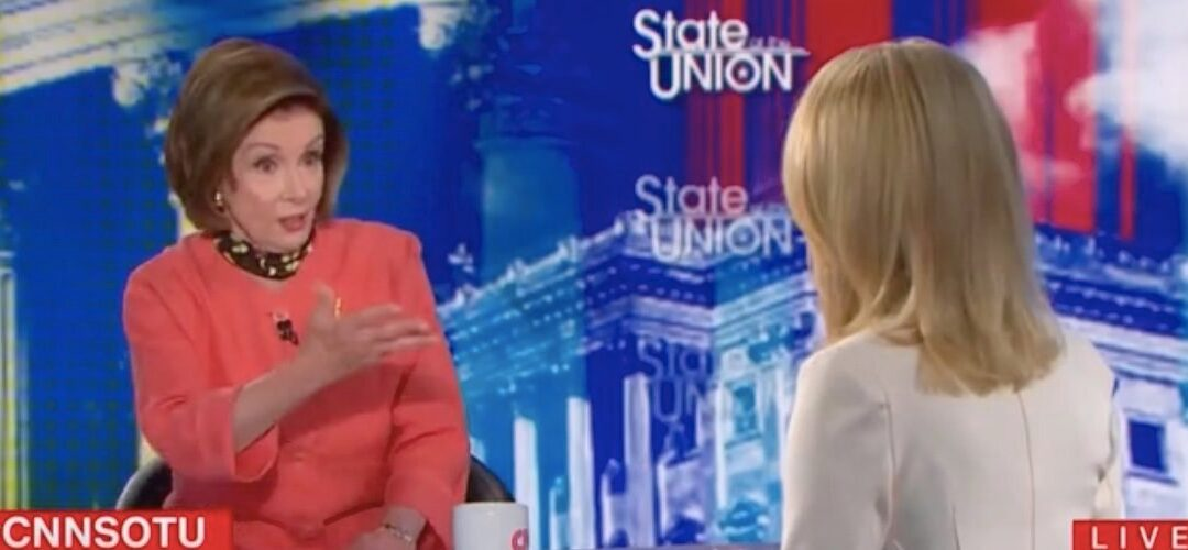 'I Don't Talk About Senate Rules': Pelosi Blocks Dana Bash's Attempt To Get A Comment On Nuking The Filibuster