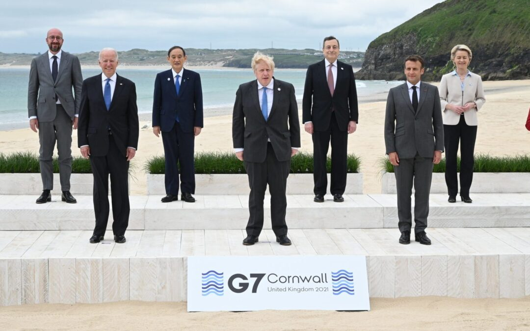 G-7 Nations Call For WHO-Led Investigation Into COVID-19 Origins In China