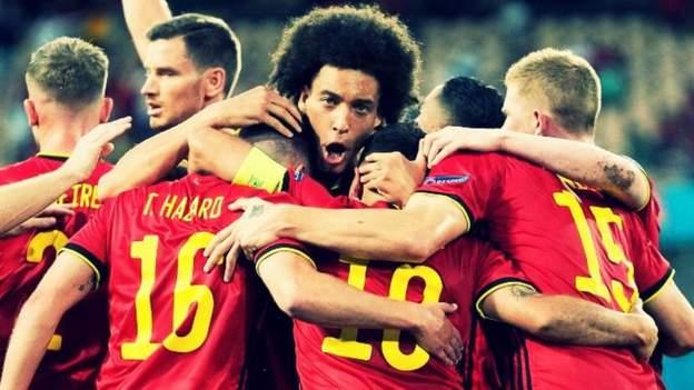 Belgium v Portugal: Thorgan Hazard strike sets up quarter-final with Italy