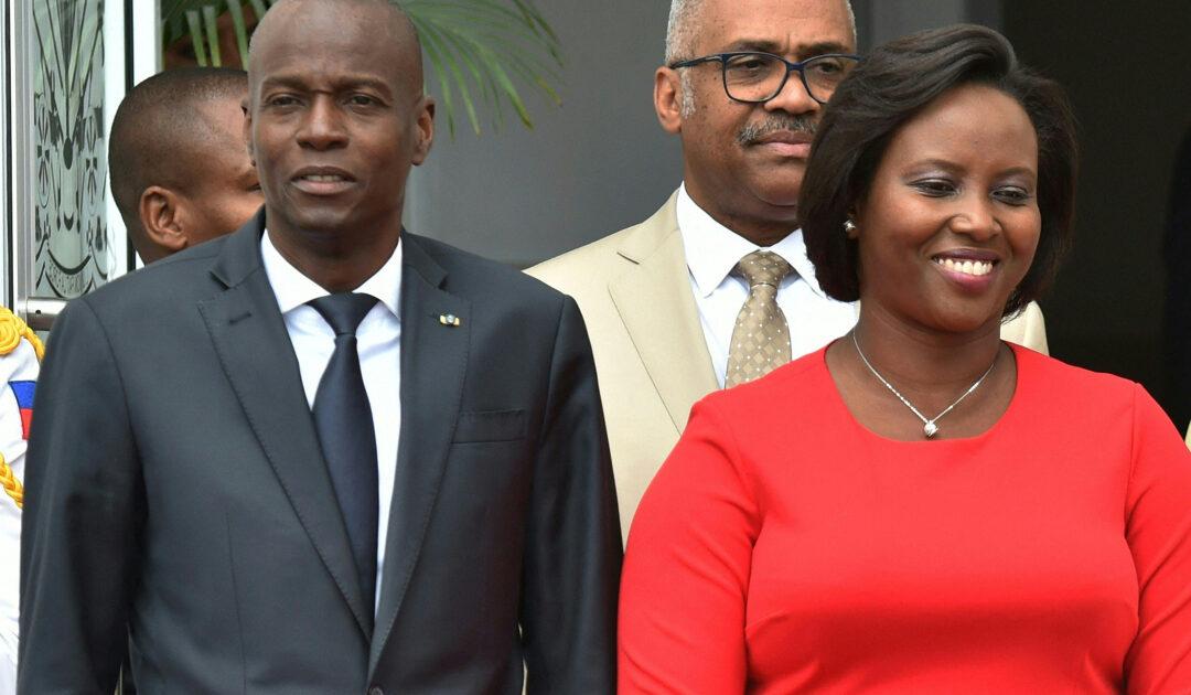 Haiti: Wife of assassinated President Jovenel Moise speaks out