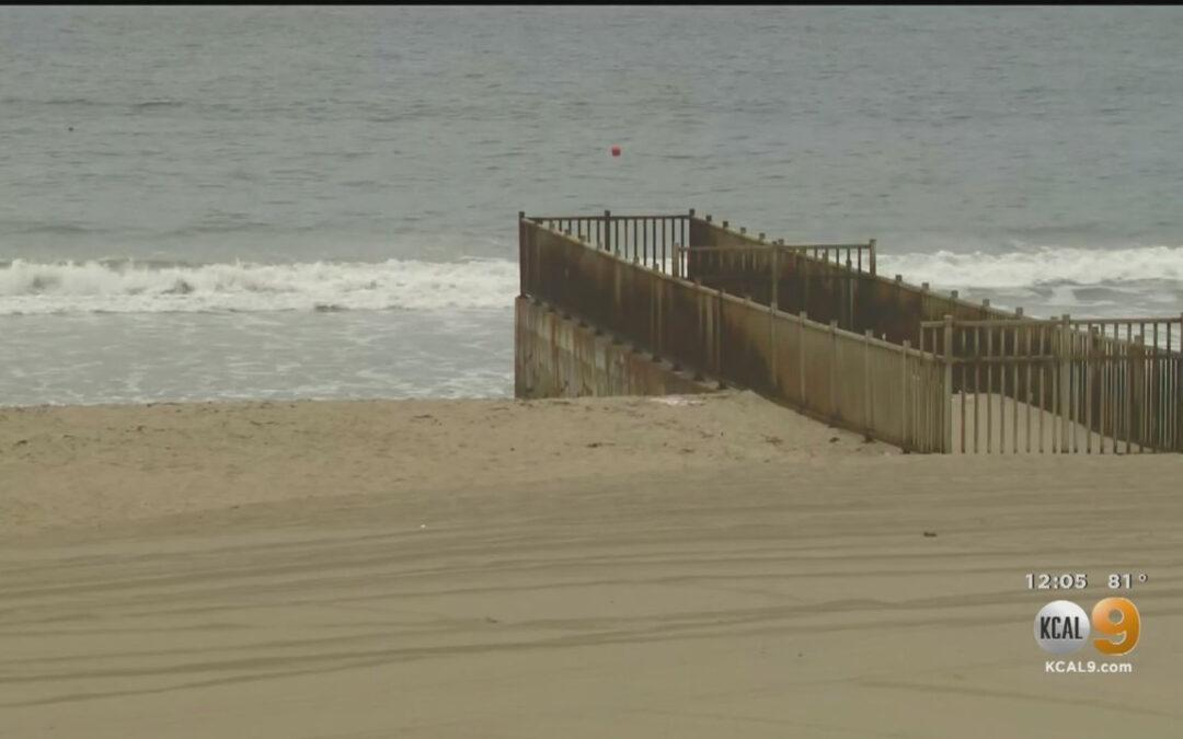 17-Million-Gallon Sewage Spill Into Ocean Prompts Closure Of LA Beaches...