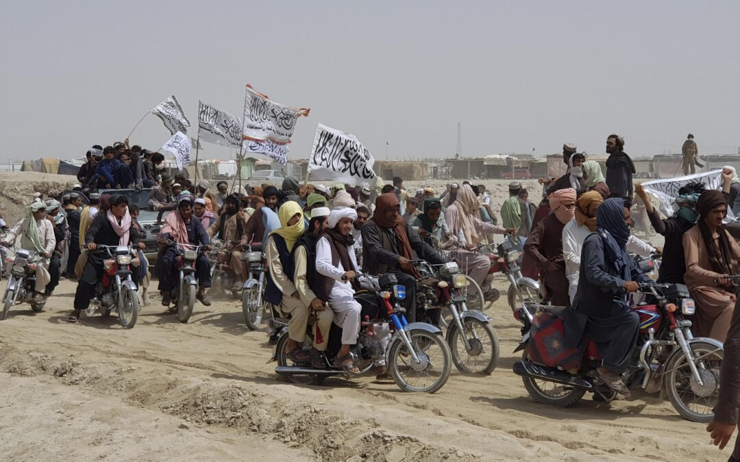 Taliban advances...
