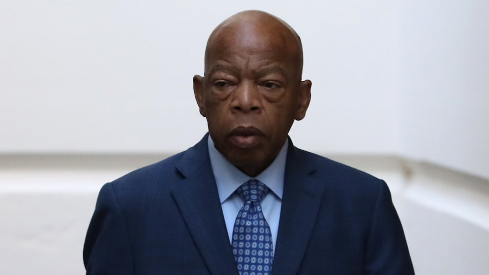US marks one year since death of civil rights icon John Lewis