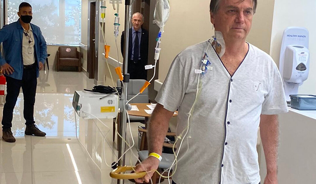 Bolsonaro could be discharged in days, Brazilian hospital says