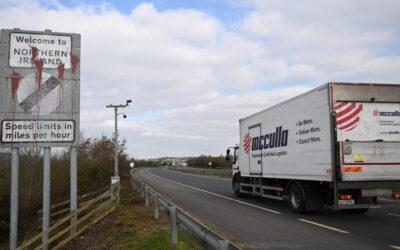 UK demands EU renegotiate post-Brexit deal for Northern Ireland