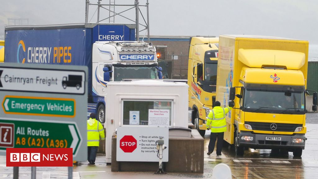 Brexit: UK wants to redraw Northern Ireland Protocol