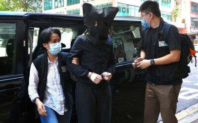 Hong Kong police arrest 5 trade union members for sedition