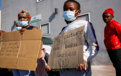 What lessons have been learned from unrest in South Africa?