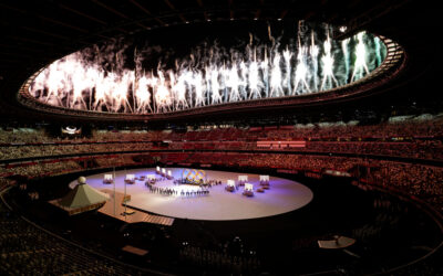 The Opening Ceremony is underway at the Olympics