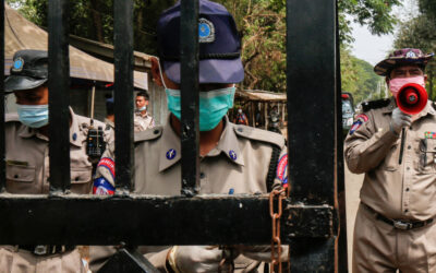 Protest erupts at Myanmar's Insein prison amid COVID outbreak