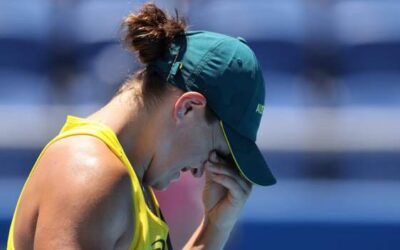 World number one Barty stunned in Olympics first round