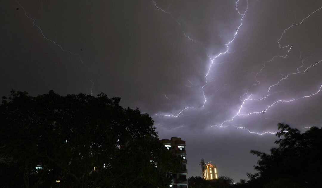 Climate crisis triggers spike in lightning strike deaths in India