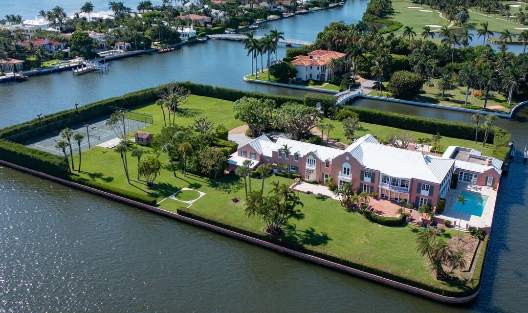 Palm Beach Island Asks $35 Million MORE Than Sold for in July...