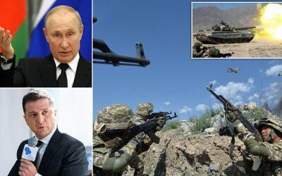 Ukraine warns war possible…