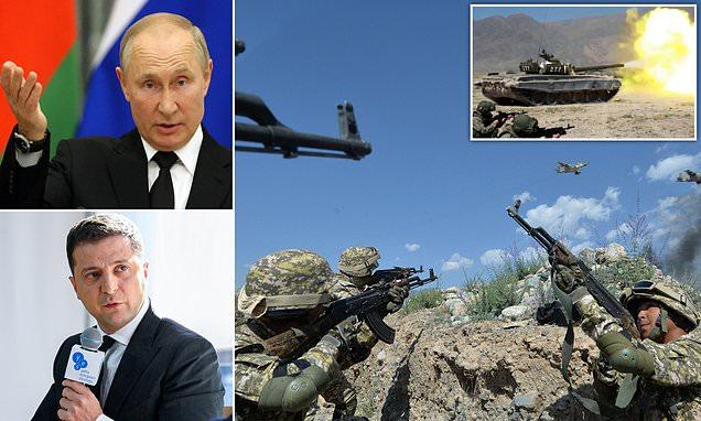 Ukraine warns war possible...