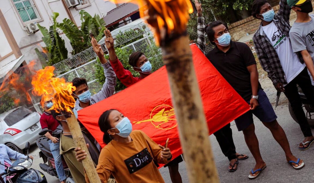 Deadly unrest in Myanmar as opposition urges 'defensive war'