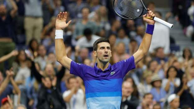 Record-chasing Djokovic sets up US Open final with Medvedev