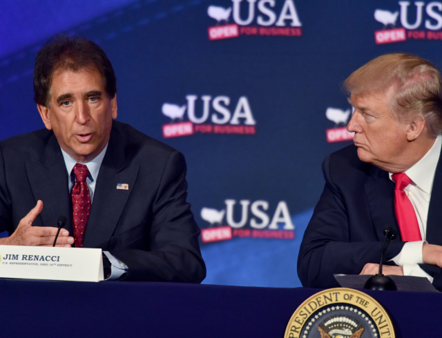 Ohio Gov Candidate Jim Renacci: We Need to 'Clean Our Own House' Before Accepting Afghan Refugees