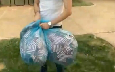 Washington University student seen throwing away thousands of American flags for 9/11