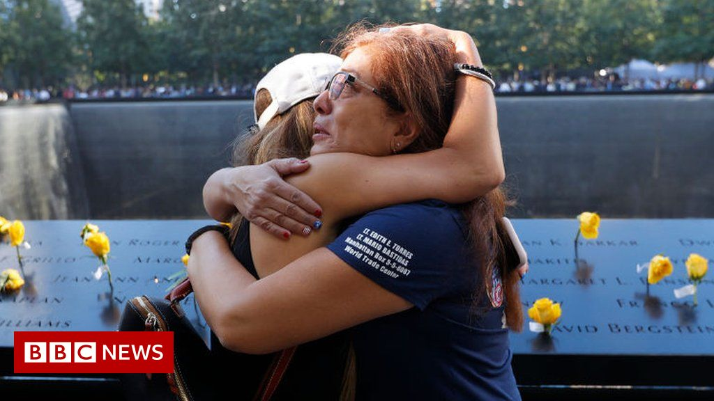 9/11 anniversary: Emotional tributes paid to lives lost