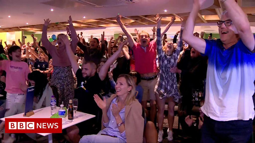 Emma Raducanu's hometown celebrates US Open win
