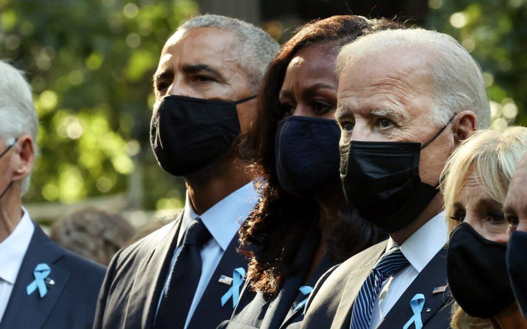 Biden, Former Presidents Honor Lives Lost At 9/11 Memorials Across America
