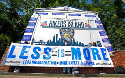 Inmate tries to hang himself during politician tour of 'hellish' Rikers Island