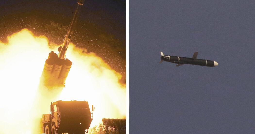 NKorea Long-Range Missile Test as Arms Race Intensifies...