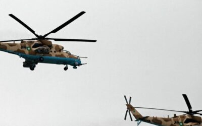 FACT CHECK: Does This Image Show A Pakistani Helicopter In Afghanistan's Panjshir Valley?