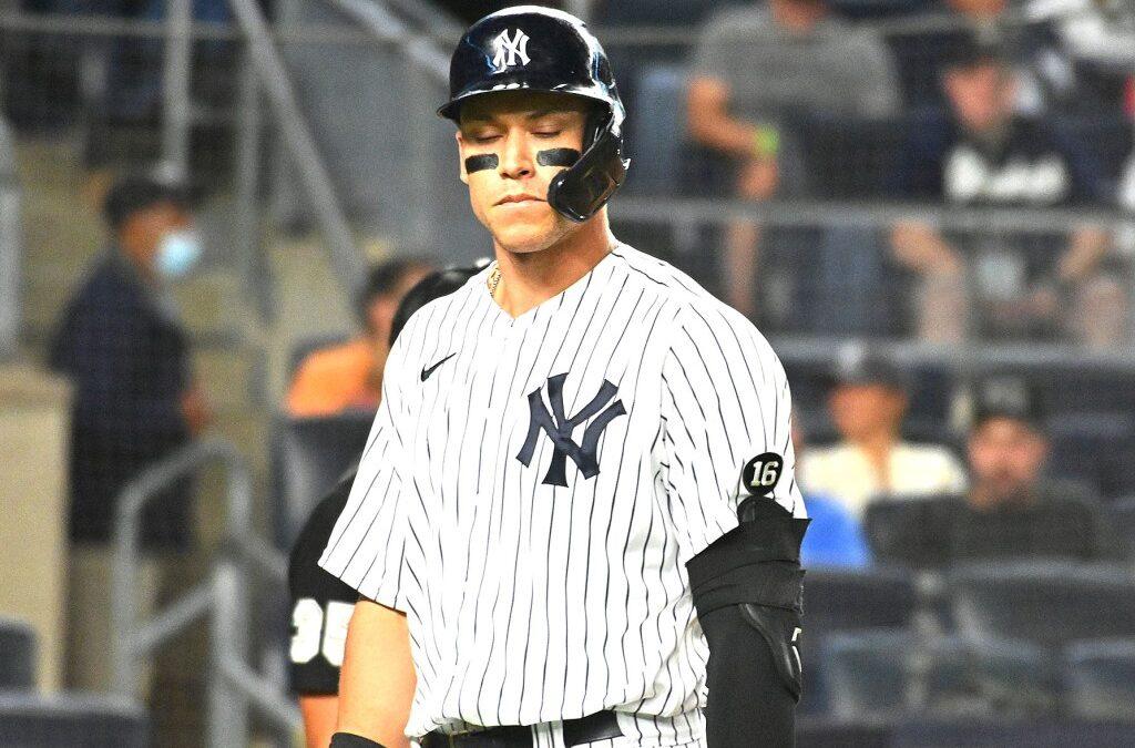 Yankees slot 'banged-up' Judge at designated hitter again
