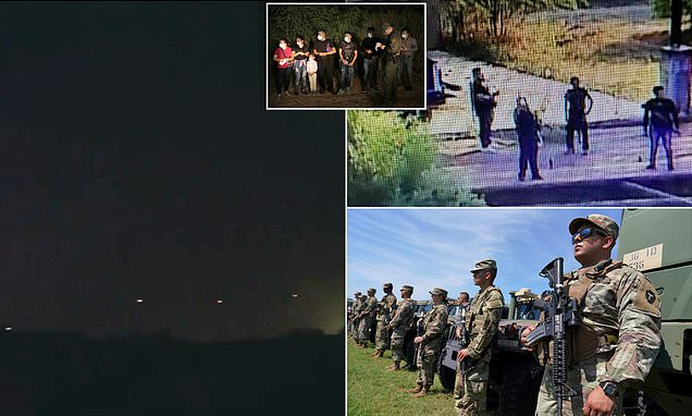Mexican cartel fires machine gun above National Guard post as migrants flood in...